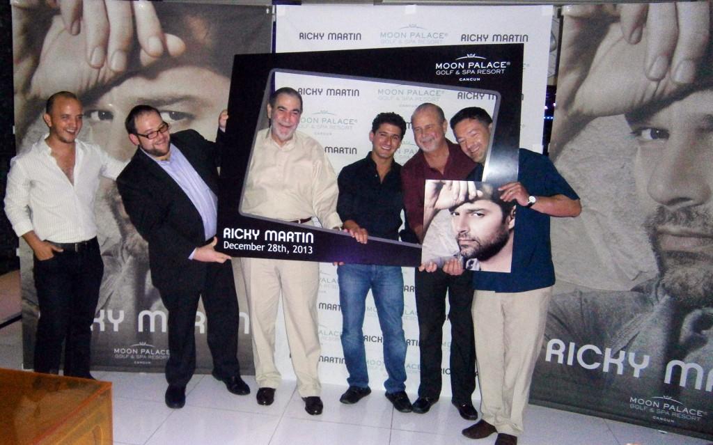 La conferencia de prensa para anunciar el concierto de Ricky Martin
