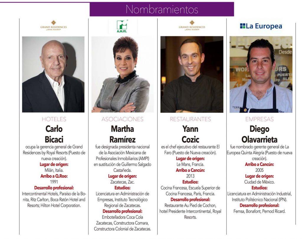 Carlo Bicaci , Martha Ramírez , Yann Cozic , Diego Olavarrieta