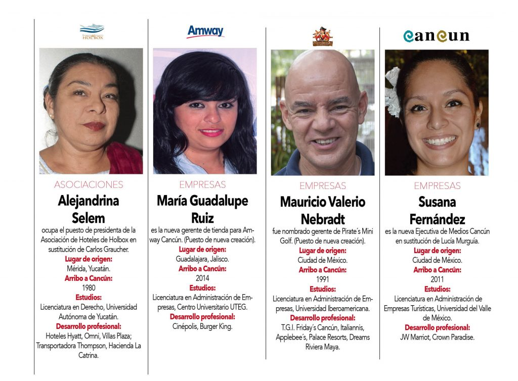 Alejandrina Selem , María Guadalupe Ruiz , Mauricio Valerio Nebradt,  Susana Fernández