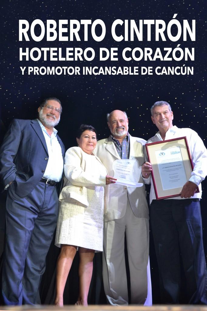 Sergio González, Lolita López Lira, Fernando Barbachano, Roberto Cintrón