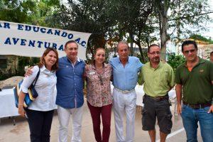 Guadalupe Jiménez, Eduardo Albor, Graciela Maldonado, Ramón Rivera, Armando Rincón y Carlos Marín