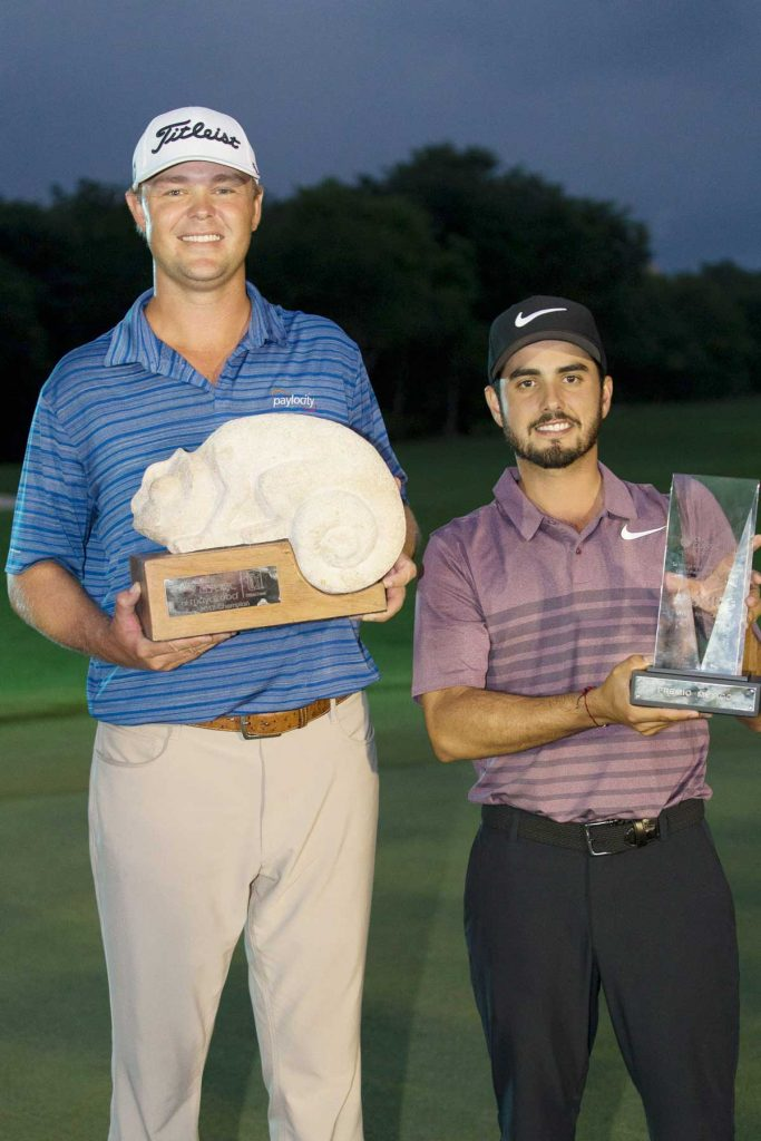 Patton Kizzire and Abraham Ancer